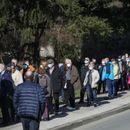 Veliki redovi za vakcinaciju u Zagrebu