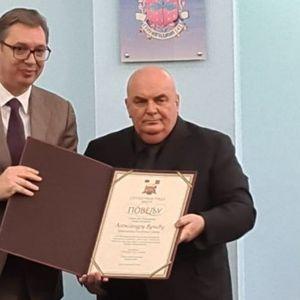 Vučić u Jagodini dobio zvanje počasnog građanina: Nije najsnažniji onaj koji nikad nije pao, već onaj koji je svaki put ustao!