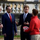 UK's Prince Harry appears in public for first time since royal split