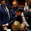 Italy PM Conte ends debate, heads to president's palace to resign