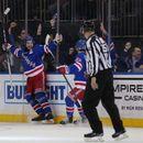 NHL roundup: Rangers' Zibanejad scores five goals