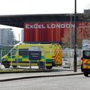 First patients arrive at London's new coronavirus hospital