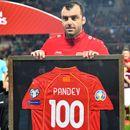 Пандев против Летонија го одигра јубилејниот 100. меч за македонската репрезентација