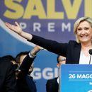 Ле Пен го победи Макрон во Франција, националистите напредуваа на изборите за Европскиот парламент