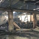 Голем пожар во едриличарскиот клуб во Струга