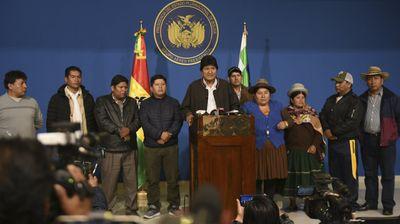 Боливискиот претседател Моралес поднесе оставка по поништувањето на изборите