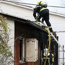 Еден загинат во пожарот во барака во скопски Трнодол