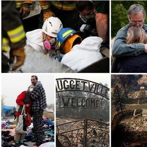 Форензичарите ги извлекуваат изгорените тела од пепелта: 76 мртви и 1276 исчезнати во најголемиот пожар во Калифорнија