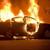 Мерцедес на арачиновец се запали на патот Градско - Прилеп, сам го изгаснал пожарот