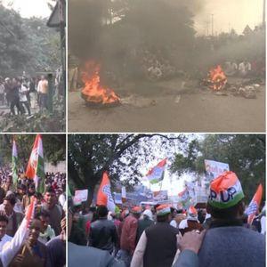 Пукотници на универзитет во Њу Делхи: Полицијата приведува студенти, протестите се претворија во драма