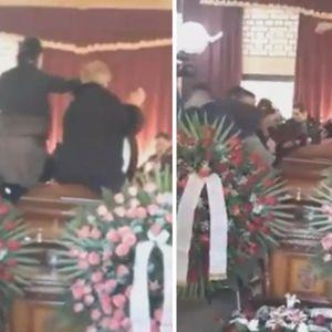 Скандал во Сомбор: Погребот го претворија во панаѓур, дојдоа да изразат сочуство па се разиграа и запеаја покрај ковчегот на мртовецот