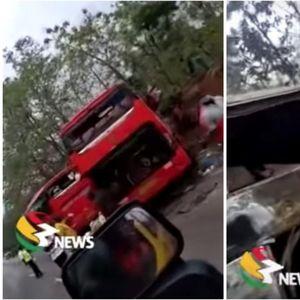 Трагедија во Гана: 50 мртви во судар на два автобуси, преживеаните се уште се извлекуваат