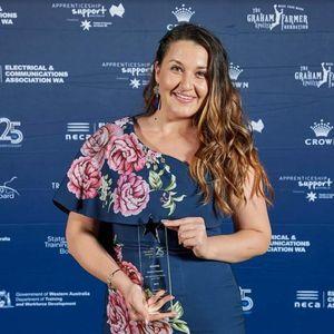 Душица Попоски најдобар интернационален студент за 2019 година во Австралија