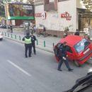 По вчерашната уште една сообраќајка кај зградата на ЕУ во Скопје