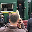 Ким во Русија дочекан со леб и сол