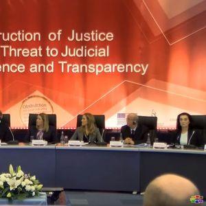 Какво е влијанието на политиката во работата на судството?