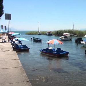 Небезбедни педалинки на Охридското крајбрежје го зголемија бројот на интервенции на спасувачите