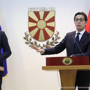 Претседателот на Европската Унија, Шарл Мишел во посета на Македонија