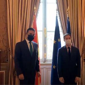 Димитров во Париз по француска поддршка за првата меѓувладина комисија