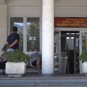 Скопските клиники не примале возрасни Ковид пациенти од прилепската болница