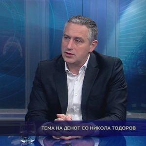 Тема на денот со Никола Тодоров