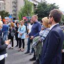 Трета балканска војна?, прашува професорка од протестот на ВМРО-ДПМНЕ