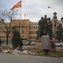 """Отстранет кампот на """"Македонија блокира"""" од Жена парк"""