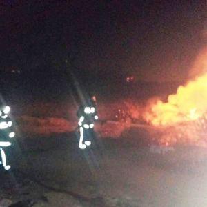Деца палеле гуми - пожар во Трубарево