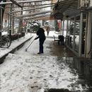 Град Скопје потсетува дека секој е должен да си го исчисти снегот пред својот објект