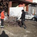 Исчистен паркингот кај пазарчето во Ѓорче