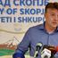 """Шилегов: Пожарот кај """"Димитар Влахов"""" е под контрола, пожарникарите се на висина на задачата"""