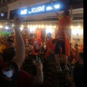 """Македонските навивачи неуморни, ентузијазмот не стивнува – ечи """"Дирлада"""""""