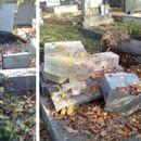 Дрво падна и оштети спомен-плочи на гробиштата во Бутел, граѓаните планираат протест