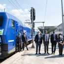 """""""Европскиот воз"""" од Скопје пристигна во Солун"""