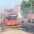 Одлична реакција на возачот при опасниот пожар на неговиот автобус од ЈСП