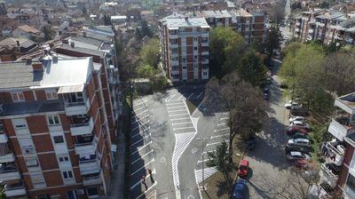 На местото на старата полициска станица во Ѓорче Петров направен паркинг