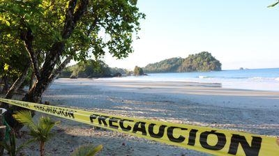 Коронавирусот ги затвори и рајските плажи на средна америка и кариби