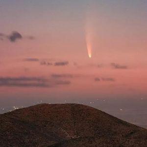 Кометата Неовајс поминува покрај Земјата и може да се набљудува со голо око и од Македонија