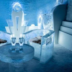 Леден хотел во Шведска е отворен преку цела година и не се топи во лето