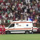 Бизарно: Скандираа тренерот да добие отказ, а тој доби срцев удар и заврши во болница
