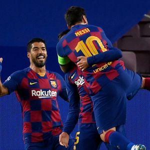 Барса чекори кон четвртфинале: Мајсторија на Меси за 2:0