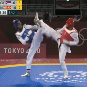 Георгиев извонреден на почетокот: Го сруши светскиот шампион и се пласира во 1/4 финале