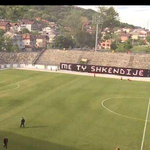 Балистите влегоа на стадионот и го прекинаа мечот Шкендија – Шкупи (ВИДЕО)