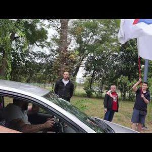 POČEO PROTEST Ljudi iz cele Vojvodine dolaze na antimigrantski skup u Somboru VIDEO