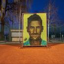 PRVI U SVETU Mozaik od teniskih loptica za Noleta