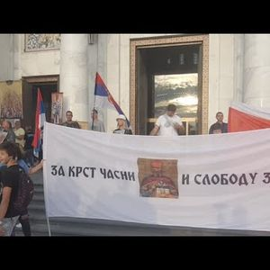 Litija za spas Srbije: Krsni hod kroz centar Beograda