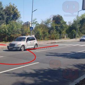 Куриоз на бургаски булевард СНИМКИ