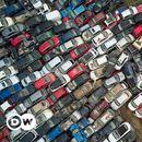 Фотографија на денот: Гробишта за поплавени автомобили