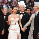 Selena Gomez shows some skin at Cannes Film Festival in sleek white dress with thigh-high slit
