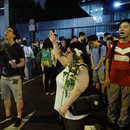 Hong Kong restaurant owner strikes to support protests